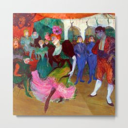 Toulouse Lautrec Marcelle Lender Dancing the Bolero Metal Print