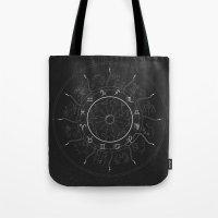 zodiac Tote Bags featuring Zodiac by NoHo