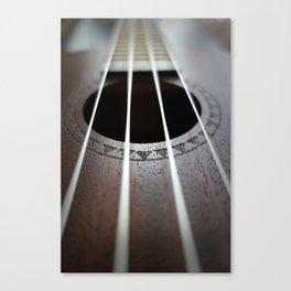 Ukelele Strings Canvas Print