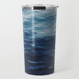 ocean blue Travel Mug