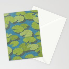 Lily Pad Love Stationery Cards