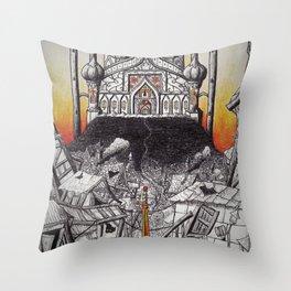 Arabian Palace Throw Pillow