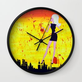 Weirdly Normal Wall Clock