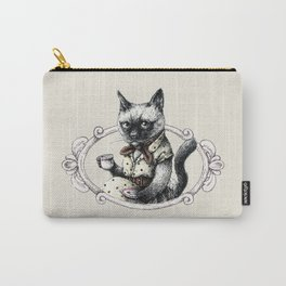 Portrait of Lady Cat Carry-All Pouch