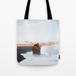 Black Sand Beach, South Iceland Tote Bag