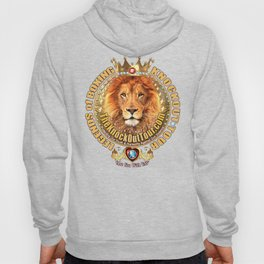 The Legends of Boxing Royal Lion Crest Hoody