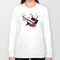 kandinsky Long Sleeve T-shirts featuring STARSHIP by THE USUAL DESIGNERS