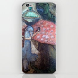 Alice in wonderland iPhone Skin