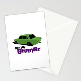 Doctor Banner Stationery Cards