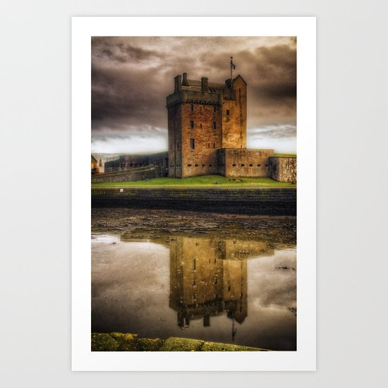 Broughty Ferry Castle Art Print