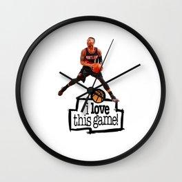 Damian Lillard Wall Clock