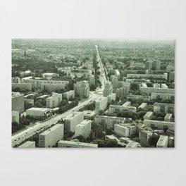 Vintage East Berlin Canvas Print