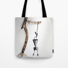 different perspective Tote Bag