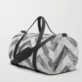 Marble Chevron Duffle Bag