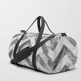 Marble Chevron Duffle Bag