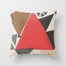 Exploding Triangles//Two Throw Pillow