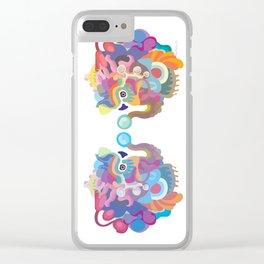 ElephanTEA Clear iPhone Case
