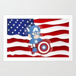 superhero n.2.1 Art Print