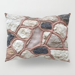 Stone Design Pillow Sham