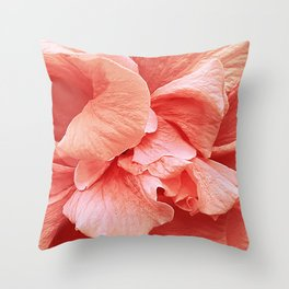 hibiscus II Throw Pillow
