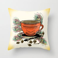 My Tea Throw Pillow