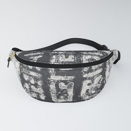 Cryptic Space Glyphs II Fanny Pack