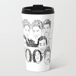 Parks and Recreation 'Rec a Sketch' Travel Mug