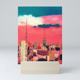 Sao Paulo - Art Mini Art Print