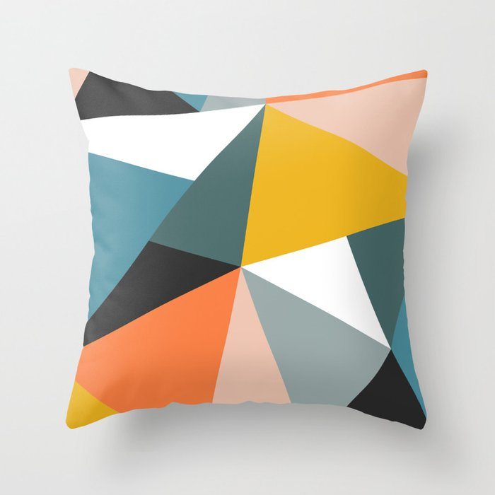 Modern Geometric 36 Throw Pillow By Theoldartstudio Society6