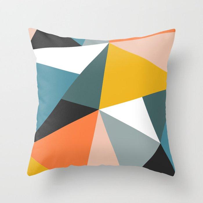 Modern Geometric 36 Throw Pillow