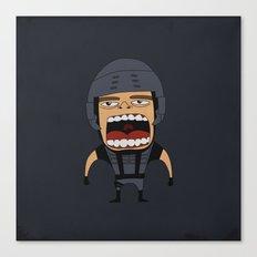 Screaming Johnny Rico Canvas Print