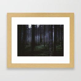 How deep will you go Framed Art Print