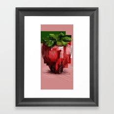 Rawberry Framed Art Print