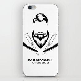 ManMane Crusade iPhone Skin
