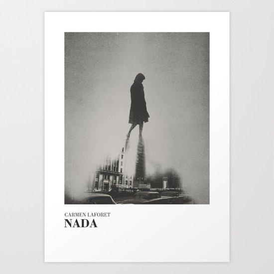 Nada - literary art series Art Print