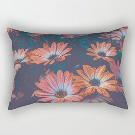 Vintage Blossoms Rectangular Pillow