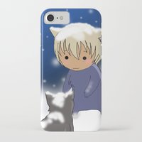 conan iPhone & iPod Cases featuring Detective Conan by Black Wing