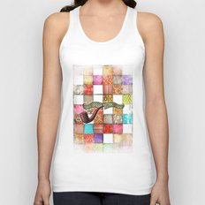 Lord Patchwork Unisex Tank Top