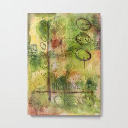 Graphically Abstract No.3 Metal Print