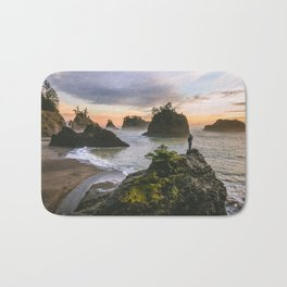 Secret Beach Along The Oregon Coast Bath Mat