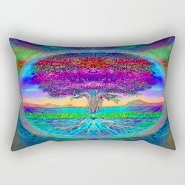 Everlasting Wonder Tree of Life Rectangular Pillow