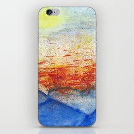 Autumn Wind on Blue Ridge iPhone Skin