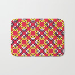 Geometric pattern Bath Mat