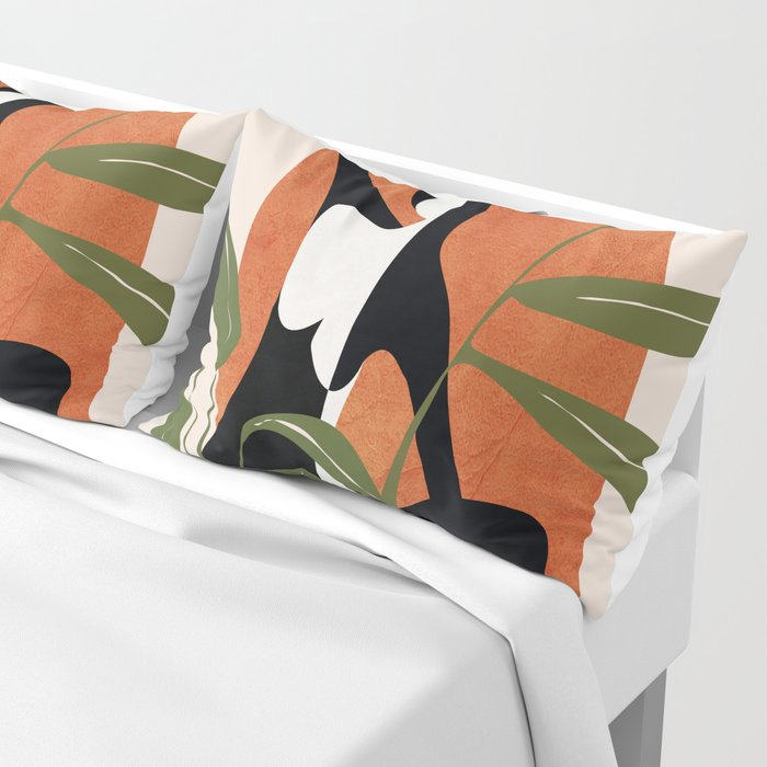 Abstract Female Figure 20 Pillow Sham