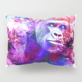 Gorillas are some of the most powerful and striking animals Pillow Sham