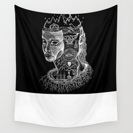 Secrets of Your Skull Wall Tapestry