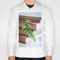 study Hoodies featuring Botany Study by Colleen Farrell