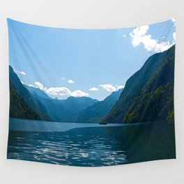 Koenigssee Lake with Alpes Wall Tapestry