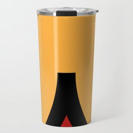 face 9 Travel Mug