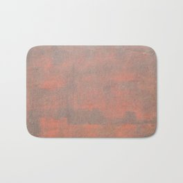 The texture of the metal sheet and coating Bath Mat